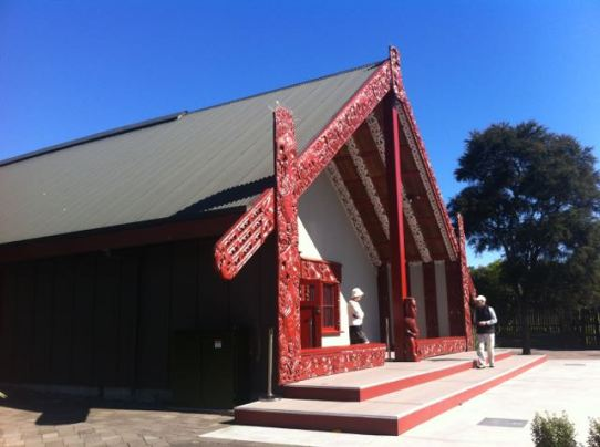 Mauri meeting house