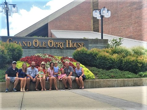 Grand Ole Opry with our Visitors