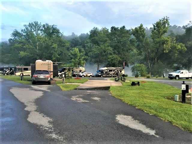 Catherine's Landing Campground in Hot Springs, Arkansas