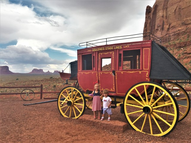 The artifacts and views at Goulding's Trading Post Museum