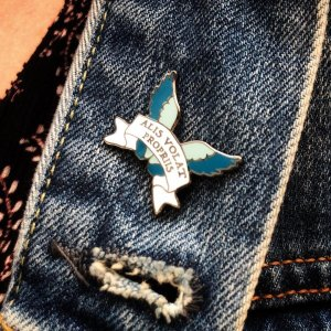 She Flies With Her Own Wings- Enamel Pin