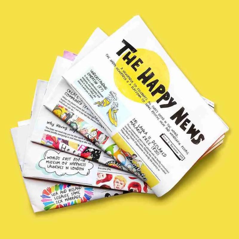 The happy newpaper