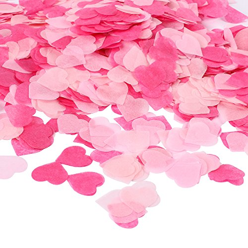 Finishing Touches, A Sprinkle of Paper Heart Confetti
