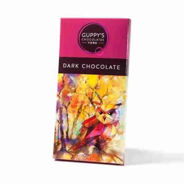 dark chocolate bar guppys