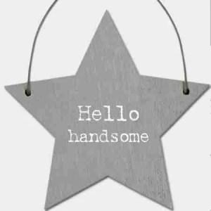 Little Keepsake Star- Hello Handsome