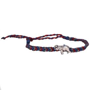 Message in a bottle- 'You are stronger than you think' Lucky Elephant Bracelet.