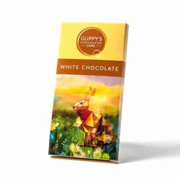 white chocolate bar guppys, 90g