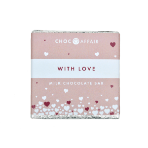 With Love- Milk Chocolate Bar