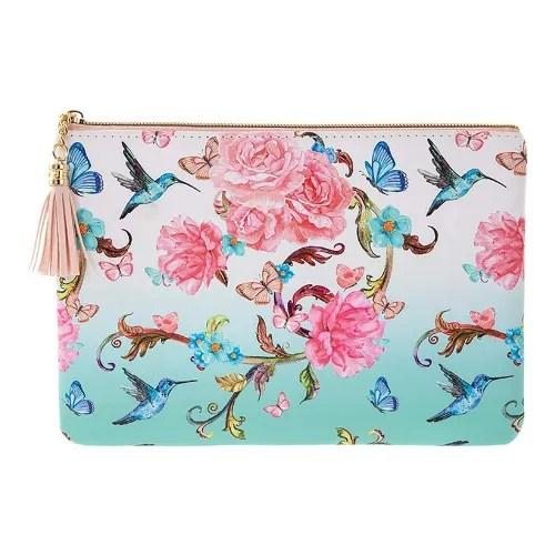 Oriental Blossom Clutch Bag