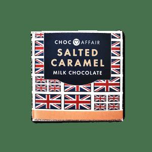 Salted Caramel Milk Chocolate Bar, 30g