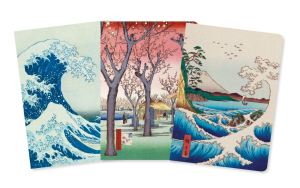 Japanese Woodblocks Midi Notebook Collection