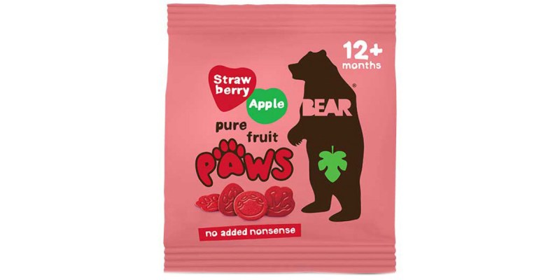 Strawberry and Apple Bear Paws