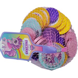 Unicorn Chocolate Coins and Stickers
