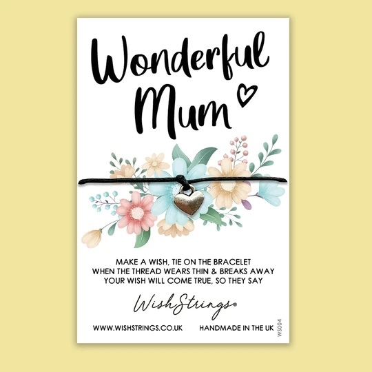 Wonderful Mum- Wish Bracelet