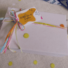 A little box of sunshine- gift wrapped care package