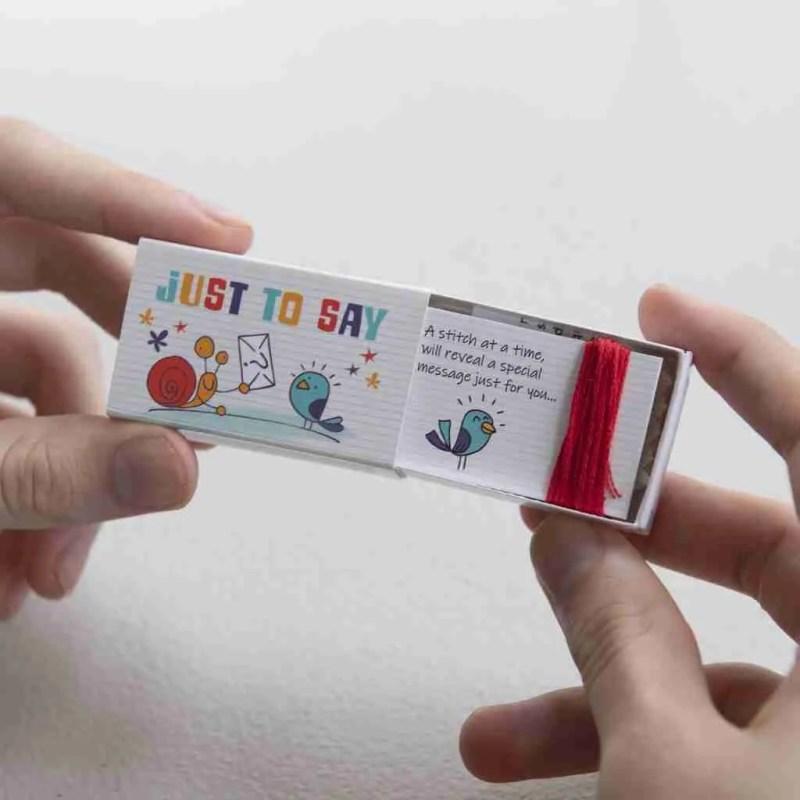 'YOU'RE EPIC' Secret message cross stitch kit
