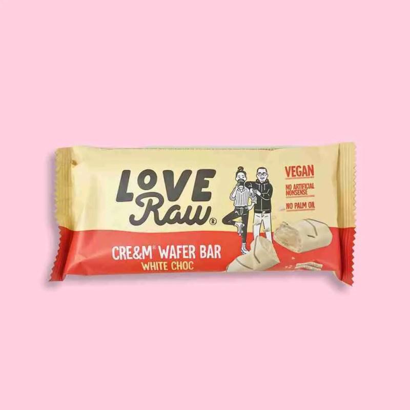 Love Raw- White Chocolate Cream Filled Wafers