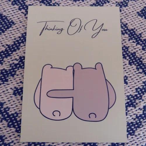 Thinking of you- Bear Hug Print