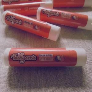 Whysee's Organic Lip Balm – Vitamin E with Cocoa