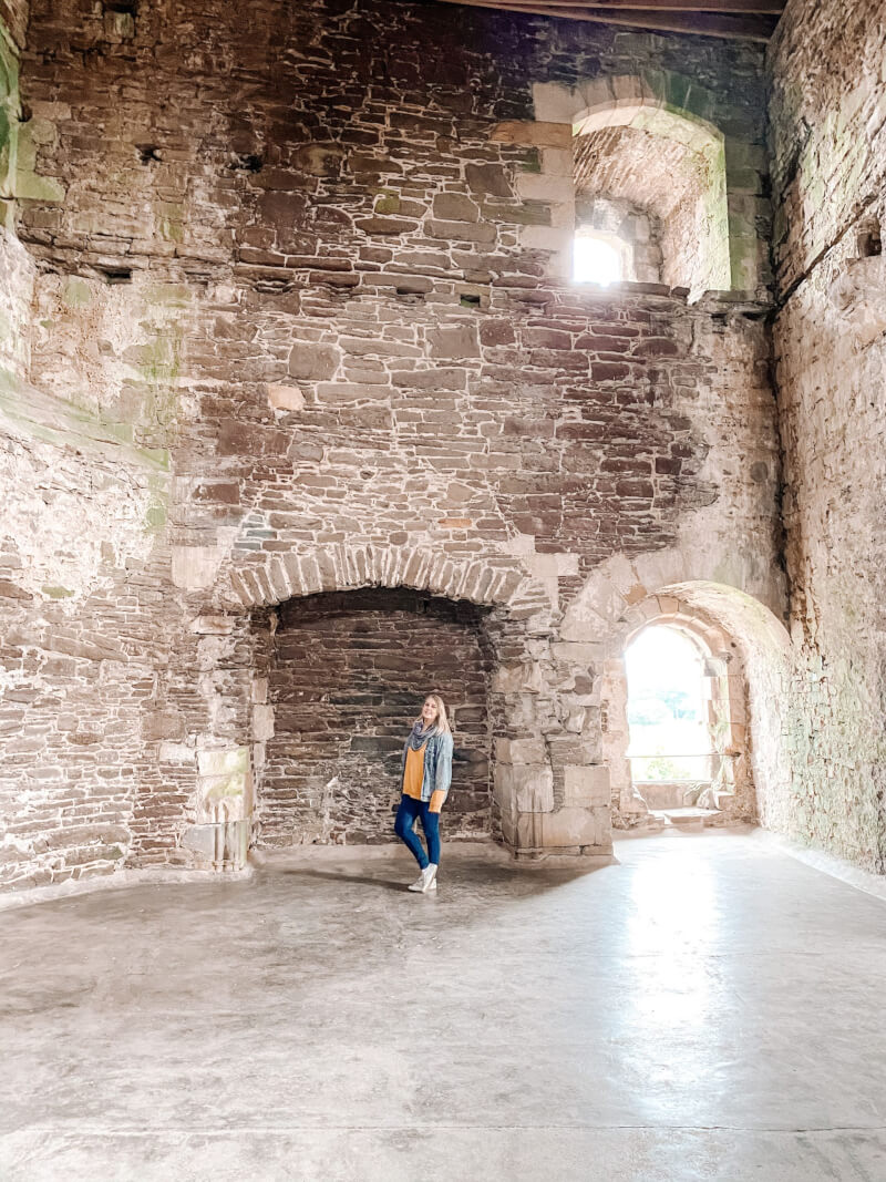 image of Doune castle on 7 day Scotland Itinerary