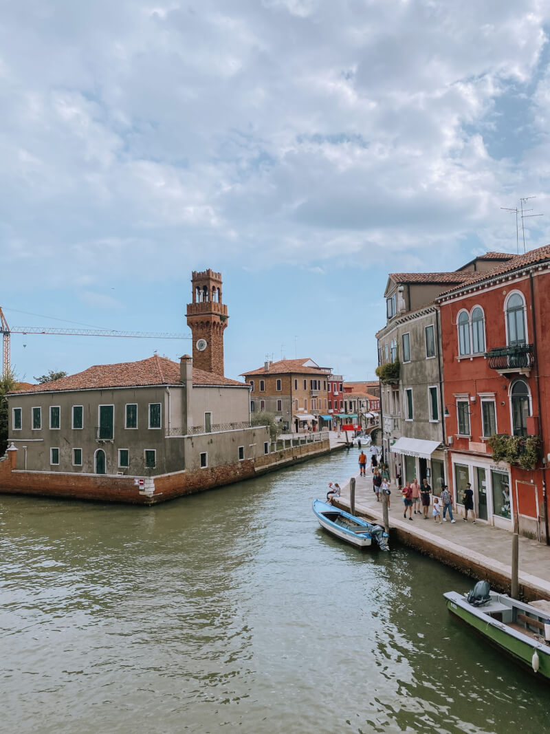 image of Murano on a day trip on 3 days in Venice