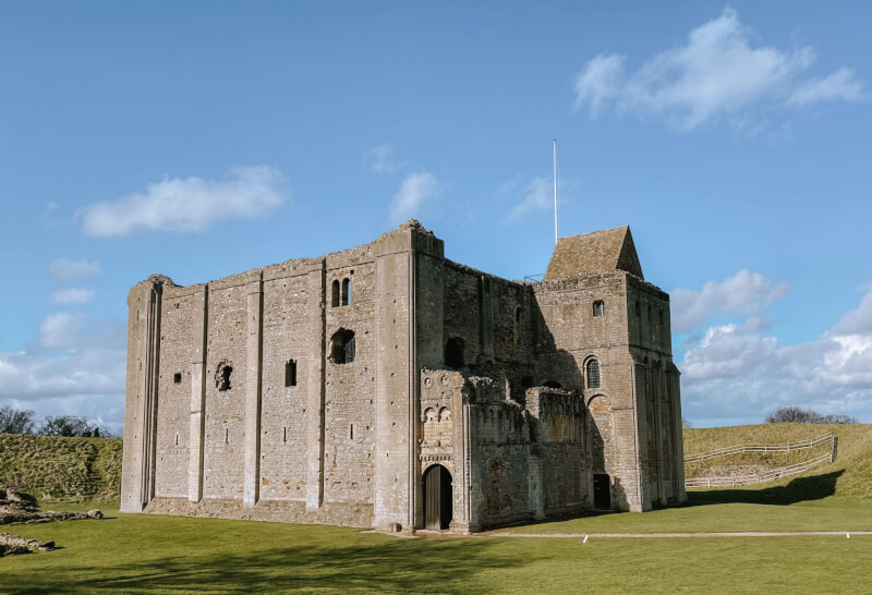 image of Castle Rising in Norfolk