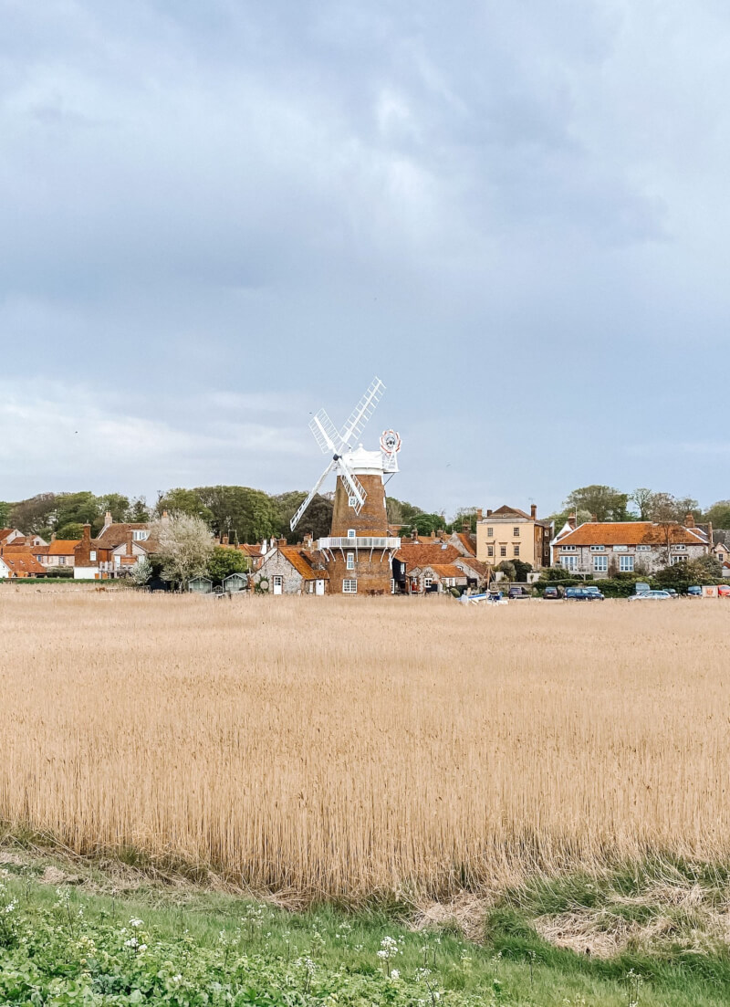 image of the Norfolk coastal village of Cley next the sea