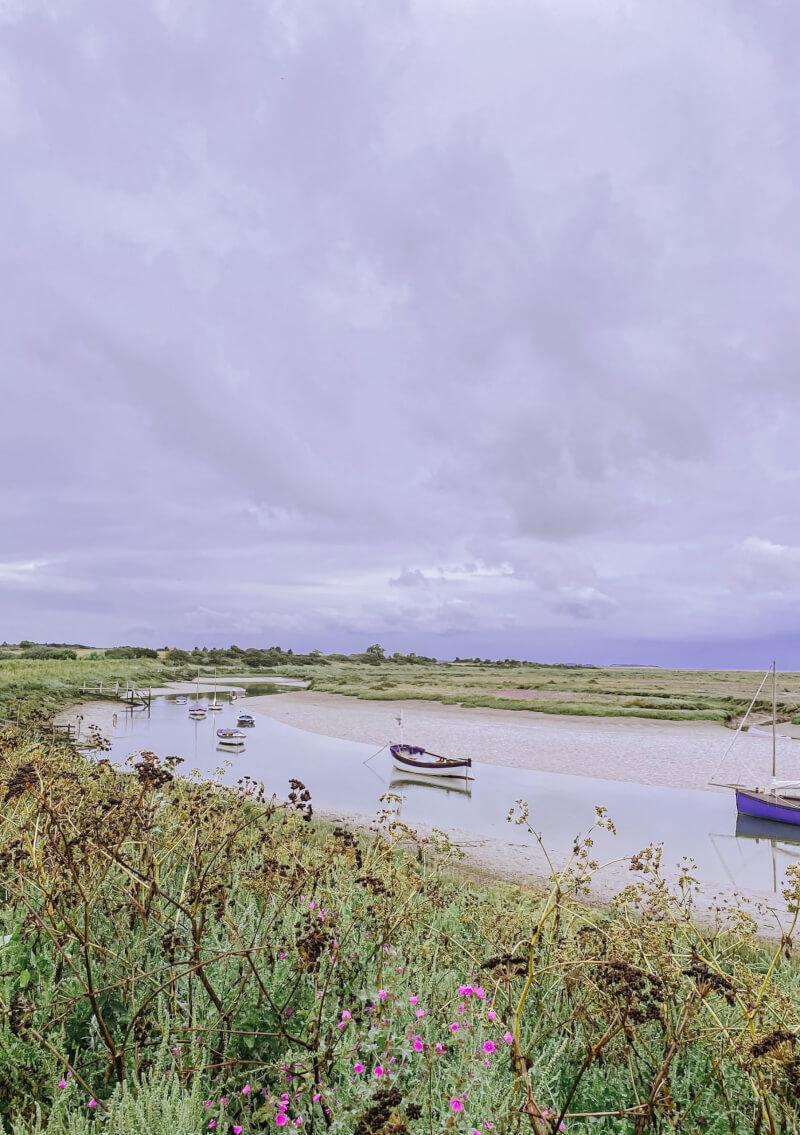 image of sailing boats at Stiffkey