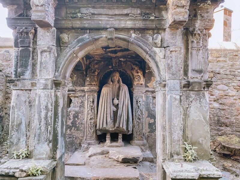 image of grave in Greyfriar Kirk cemetary