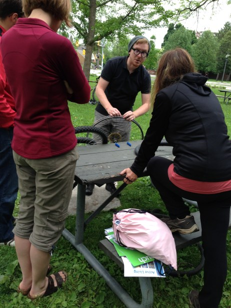 Spring Roll bike maintenance workshop with Recycle Cycles
