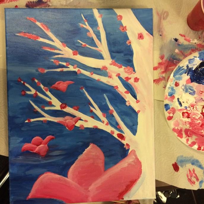 flowers falling 3