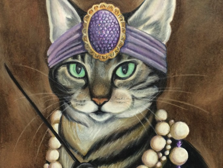 Cat Portrait Detail