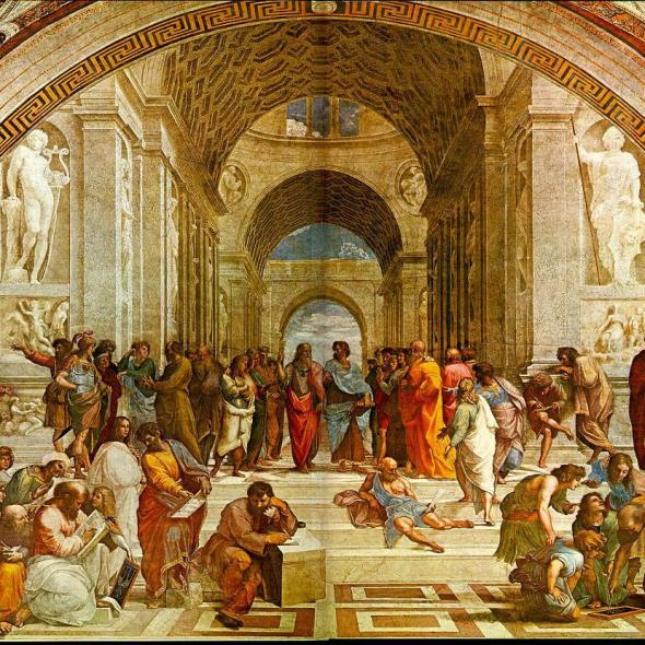 Michelangelo's School of Athens