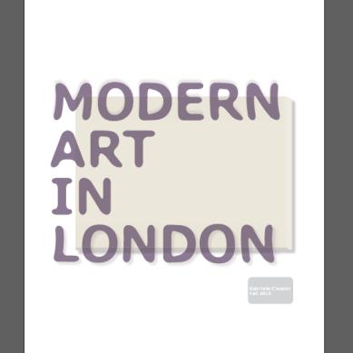 cover modern magazine