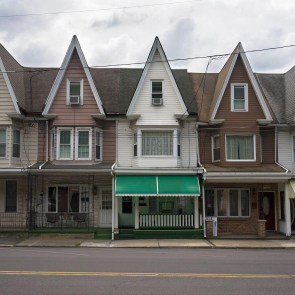 Digital Photo of Houses