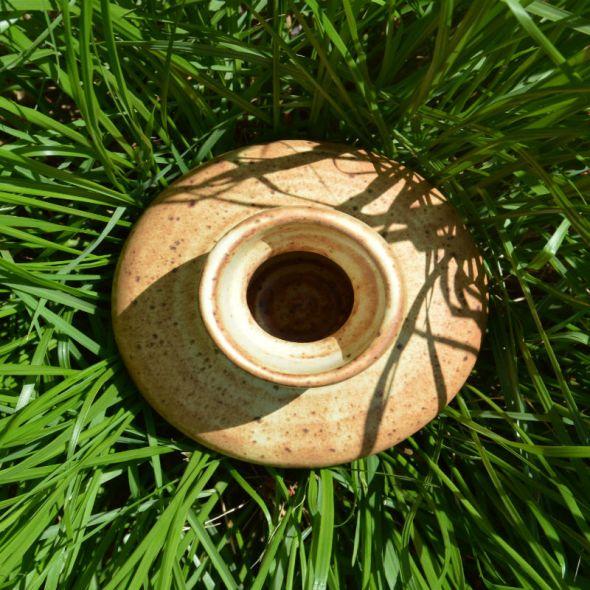 Ceramic Vase in long grass