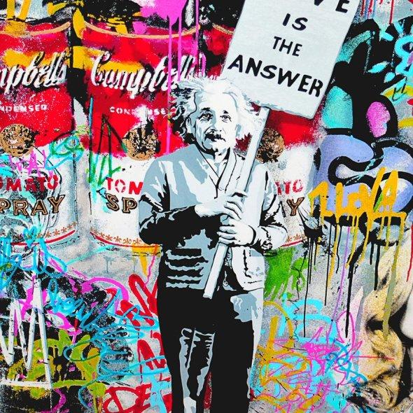 Albert Einstein Mural