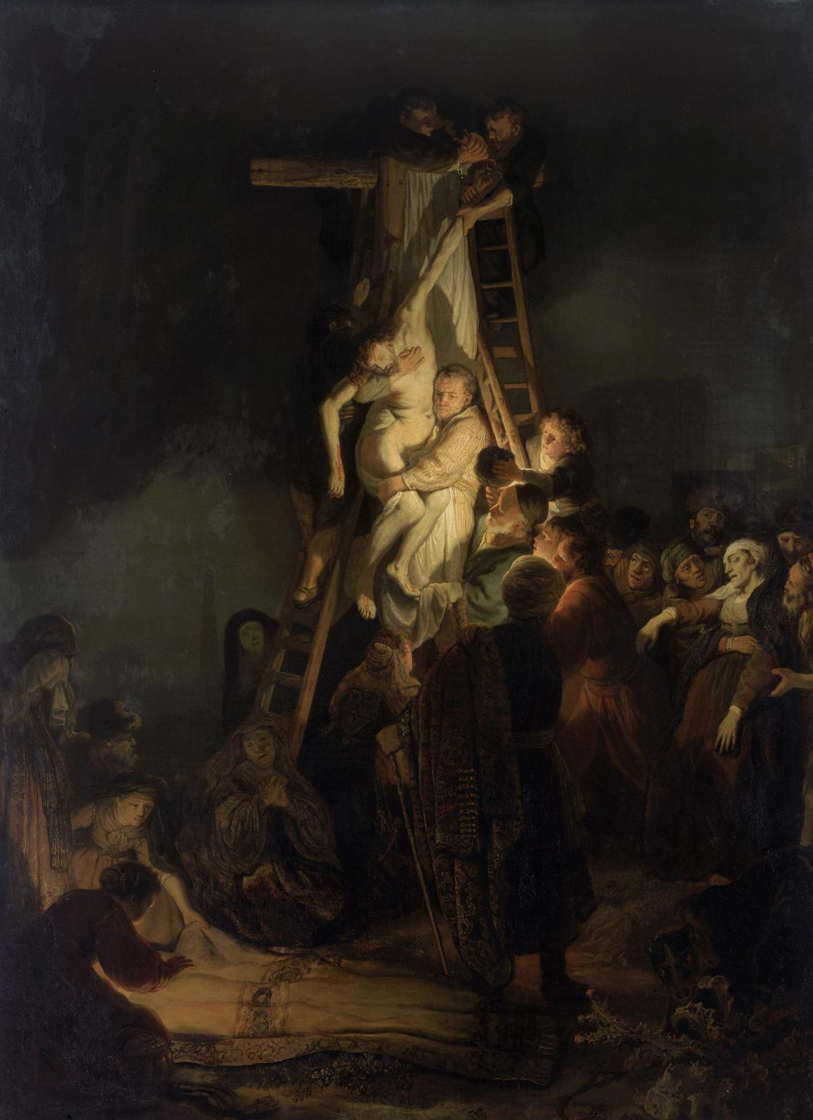 Rembrandt, The Descent from the Cross, 1634