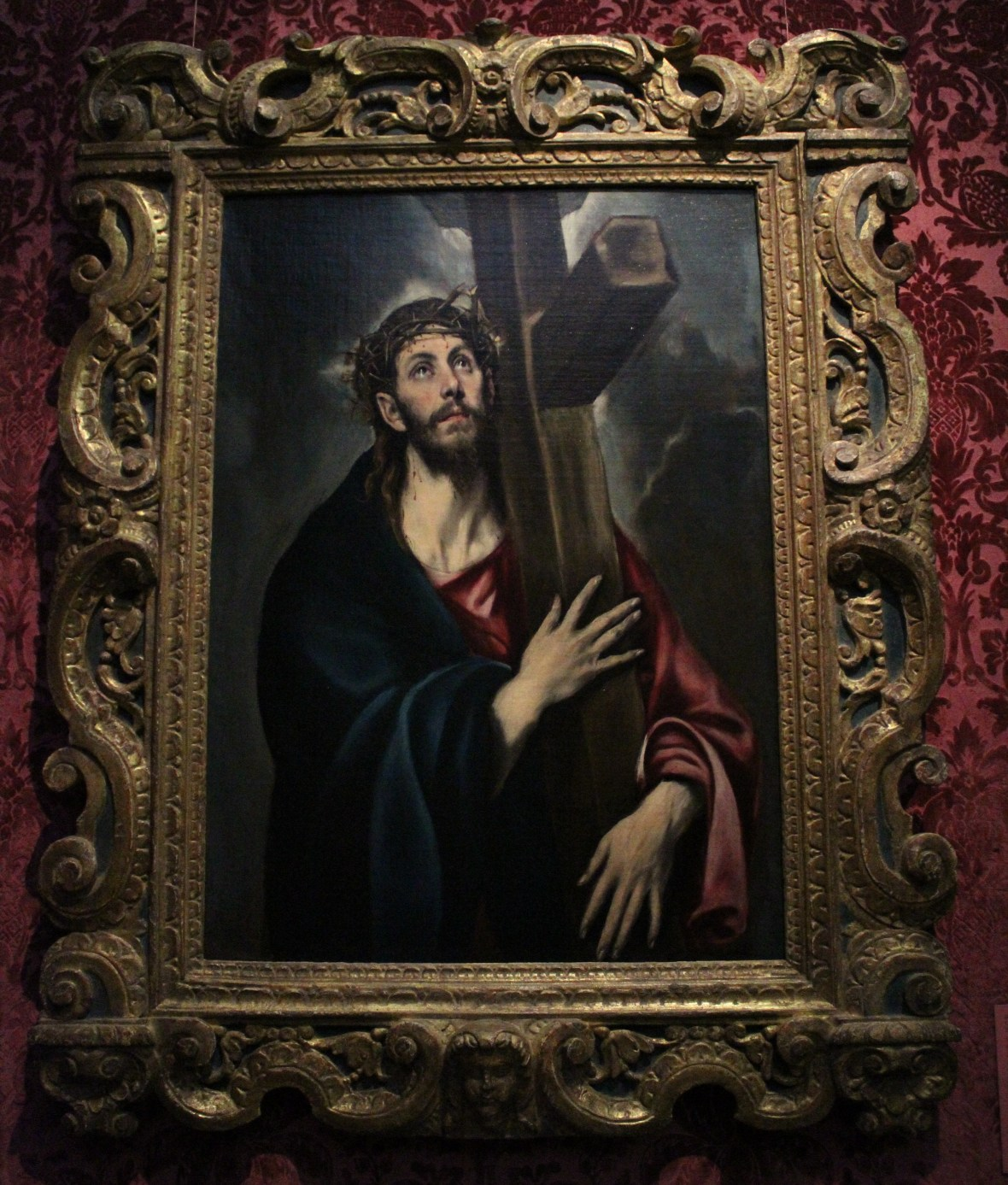 El Greco, Christ Carrying the Cross, 1577-1587