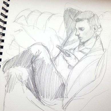A sketch of my brother