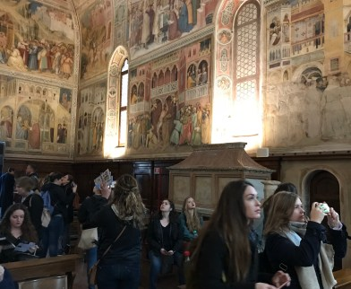 Frescoes in Padua