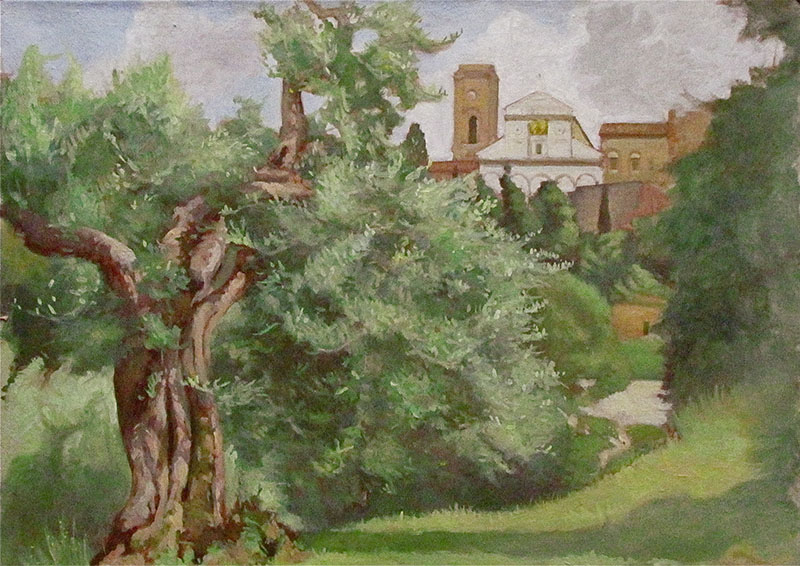 Olive Tree and San Miniato