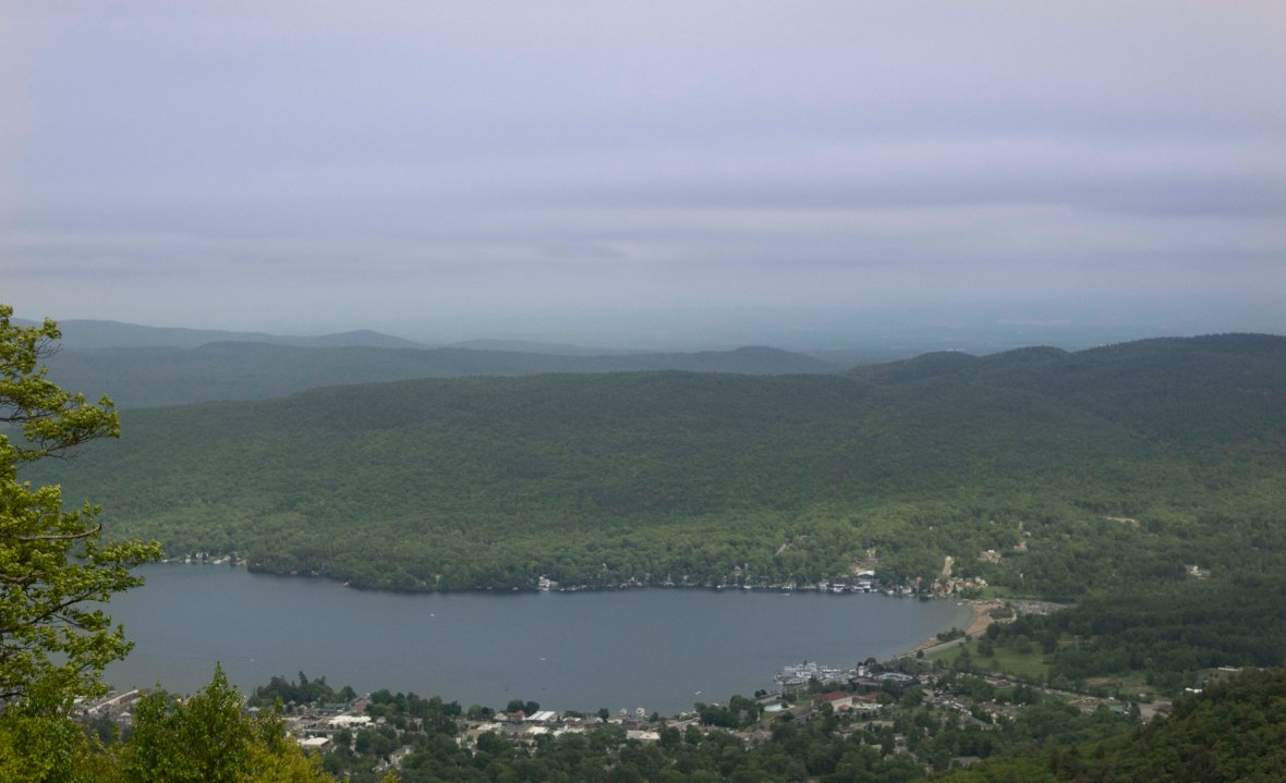Lake George and the Village