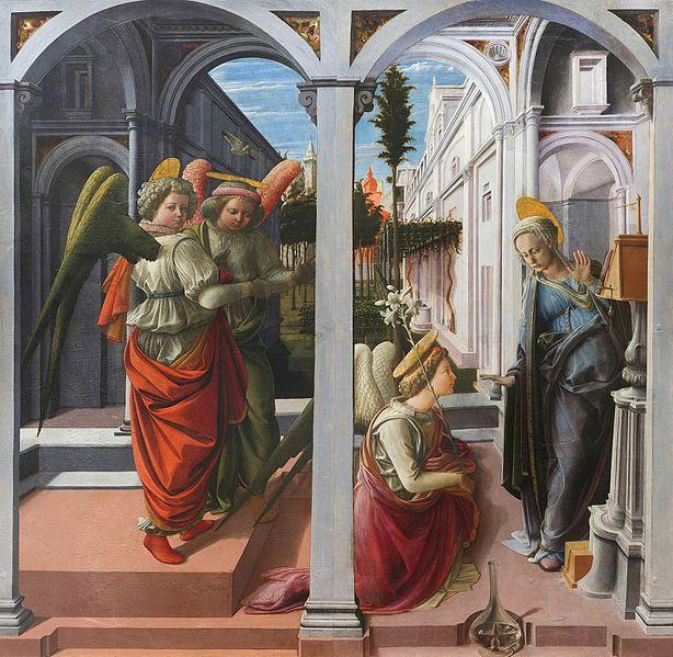 Lippi, Martelli Annunciation, 1440