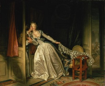 Jean-Honoré Fragonard, The Stolen Kiss, 1786