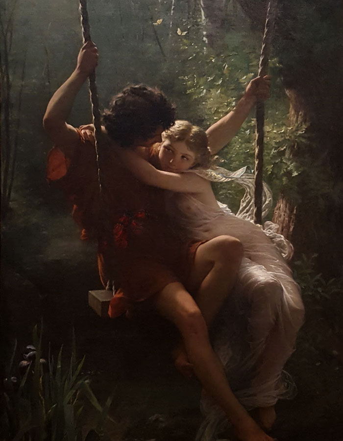 Photo of Springtime by Pierre Auguste Cot