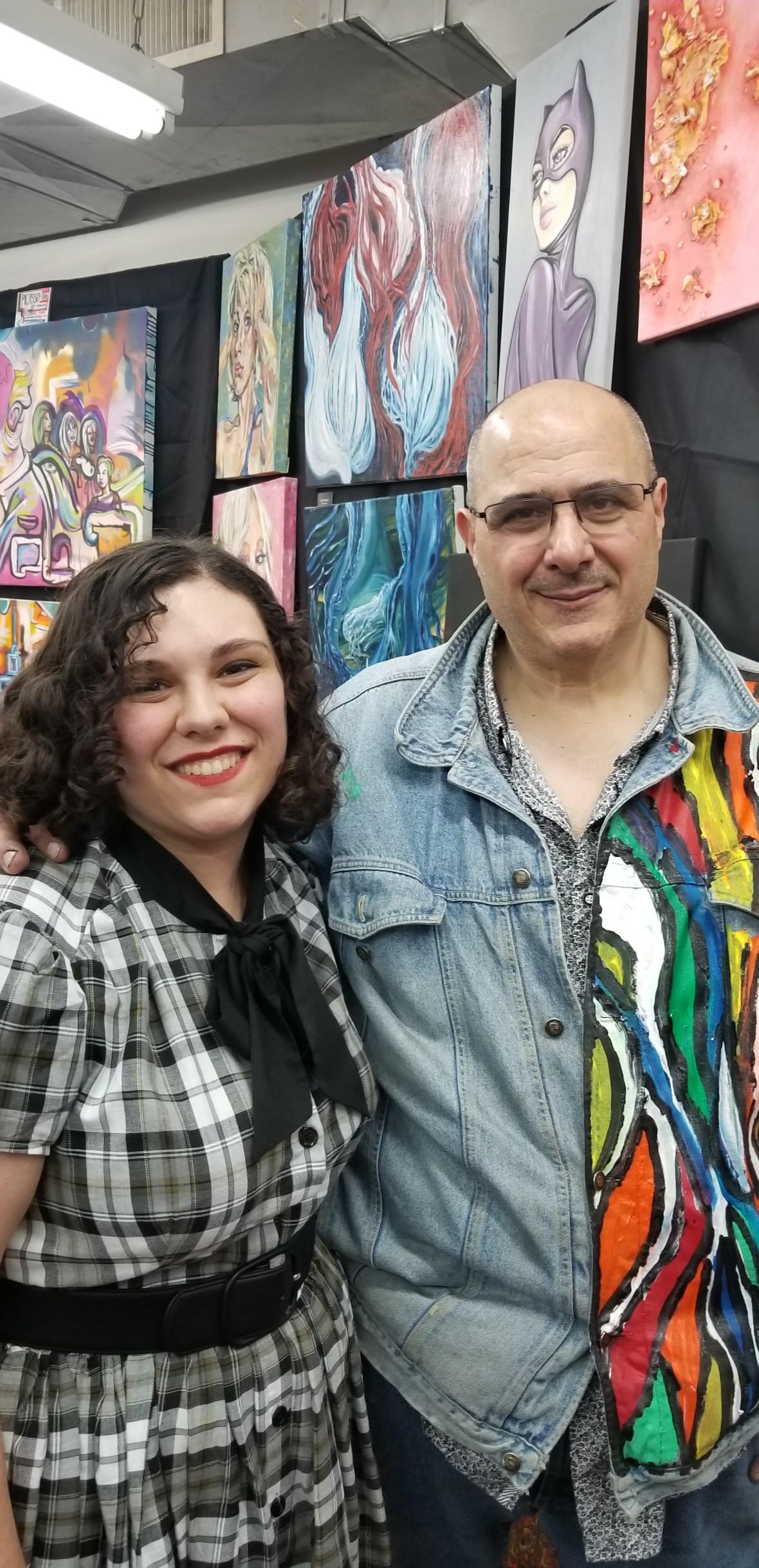 Me and Mike Saviello