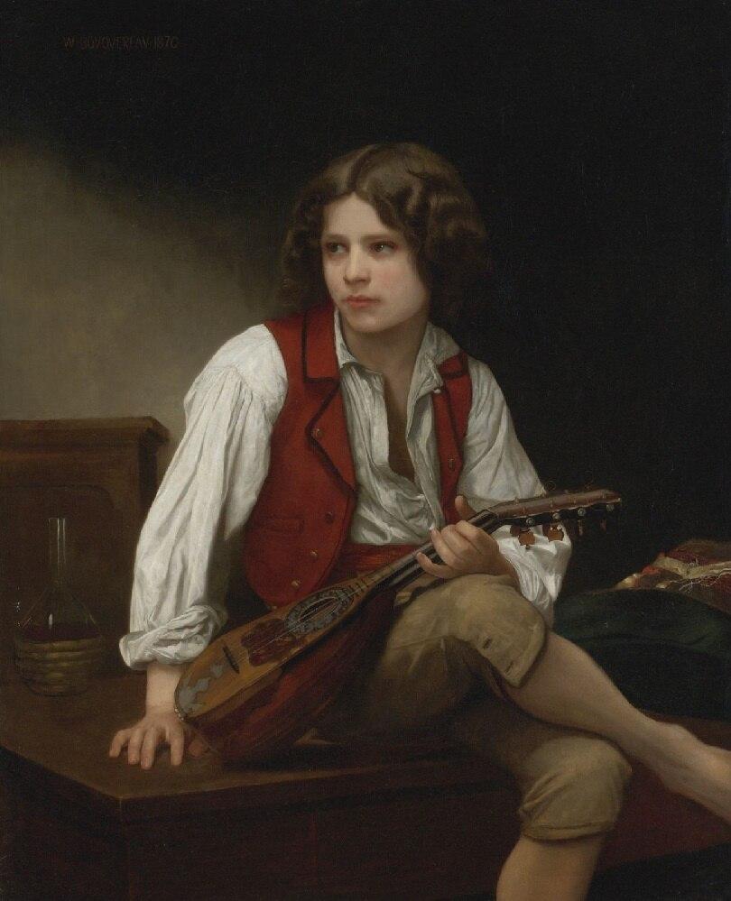 Italian Mandolin, 1870