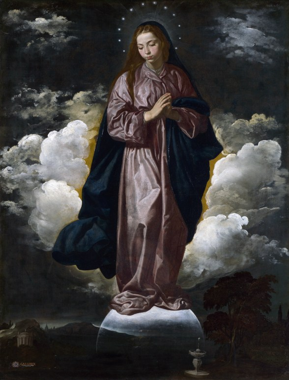 Diego Velazquez, Immaculate Conception, 1618