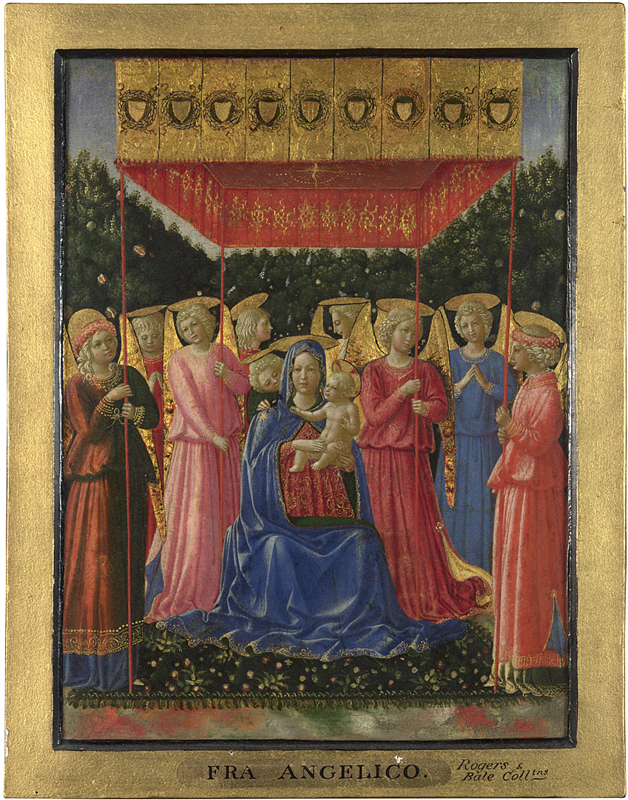 Gozzoli, The Virgin and Child with Angels, 1461-2